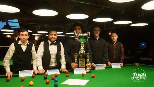 "Umut Dikme wins 6. Edition of "" Int. Rheintal Snooker Open"""